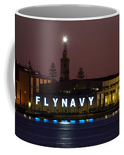 Fly Navy Coffee Mug