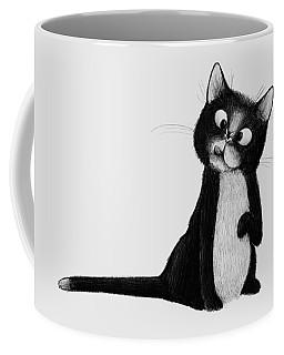 Fly On Cat Coffee Mug