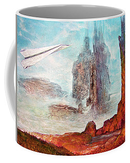 Fly-over With Bogomil's Shuttle Coffee Mug