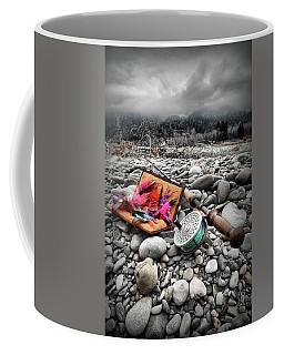 Fly Rod And Streamers Portrait Coffee Mug