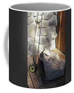 Fly Rod And Vest Coffee Mug