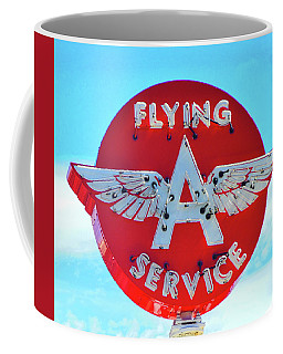 Flying A Service Sign Coffee Mug