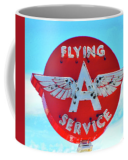 Flying A Service Sign Coffee Mug