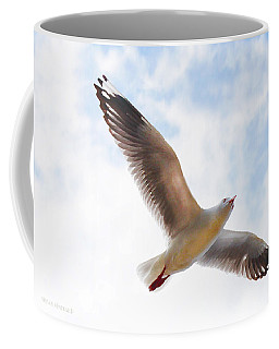 Flying Away From The Madness Coffee Mug