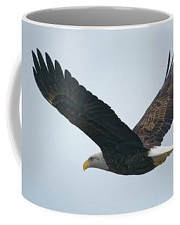 Flying Bald Eagle Coffee Mug