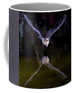 Flying Bat With Reflection Coffee Mug