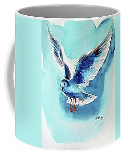 Flying Bird Coffee Mug by Kovacs Anna Brigitta