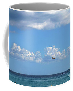 Flying By The Sea Coffee Mug