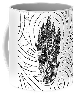Flying Castle Coffee Mug