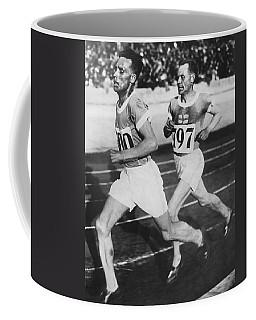 Flying Finns At Olympic Games Coffee Mug