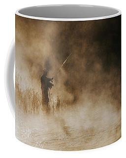 Flying Fishing Coffee Mug