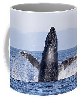 Flying Humpback Coffee Mug