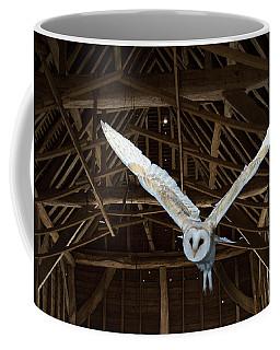 Flying In The Barn Coffee Mug