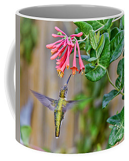 Flying Jewel Coffee Mug by Kerri Farley