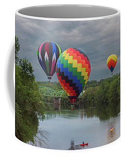 Flying Over The Androscoggin Coffee Mug