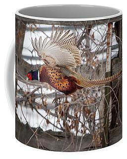 Flying Pheasant Coffee Mug