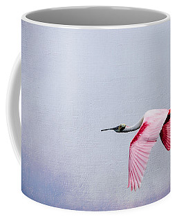 Flying Pretty - Roseate Spoonbill Coffee Mug