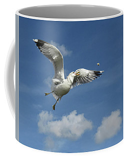 Flying Seagull 1 Coffee Mug