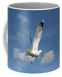 Flying Seagull 4 Coffee Mug
