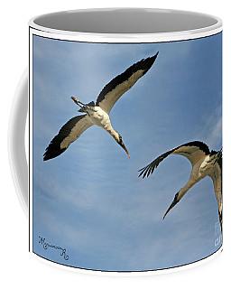 Flying The Friendly Sky Coffee Mug