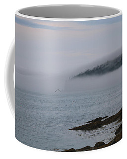 Coffee Mug featuring the photograph Flying Through The Mist by Living Color Photography Lorraine Lynch