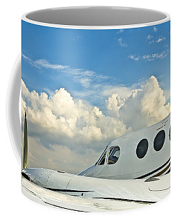 Coffee Mug featuring the photograph Flying Time by Carolyn Marshall