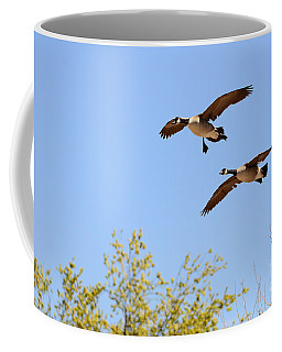 Flying Twins Coffee Mug