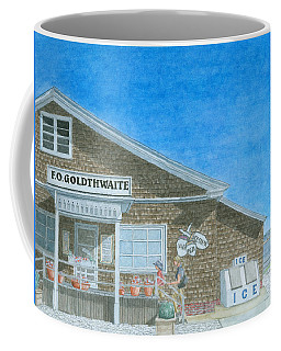 Coffee Mug featuring the painting F.o. Goldthwaite by Dominic White