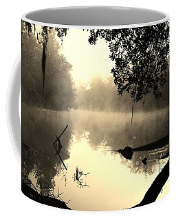 Fog And Light In Sepia Coffee Mug by Warren Thompson