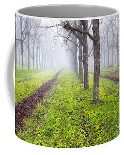 Fog And Orchard Coffee Mug