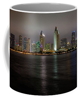 Fog Glow Over San Diego Coffee Mug