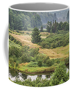 Coffee Mug featuring the photograph Fog In The Adirondacks by Sue Smith