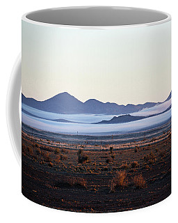 Fog In The Peloncillo Mountains Coffee Mug