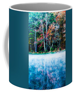 Fog On The Lake Coffee Mug by Parker Cunningham