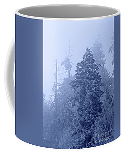 Coffee Mug featuring the photograph Fog On The Mountain by John Stephens
