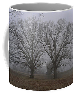 Fog On The Yorktown Battlefield Coffee Mug
