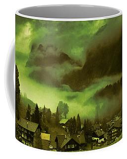 Fog Over The Village Coffee Mug