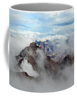 Fog Shrouded Vishnu Temple  Coffee Mug