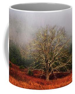 Fog Tree Coffee Mug by Geraldine DeBoer