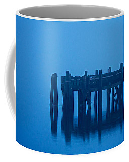Shrouded In Fog, Morro Bay Coffee Mug