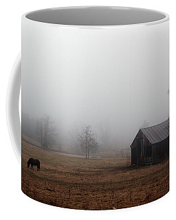 Foggy Barnyard Coffee Mug