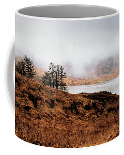 Foggy Day At Loch Arklet Coffee Mug