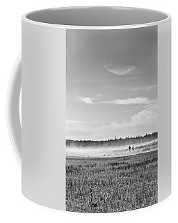 Foggy Day On A Marsh Coffee Mug