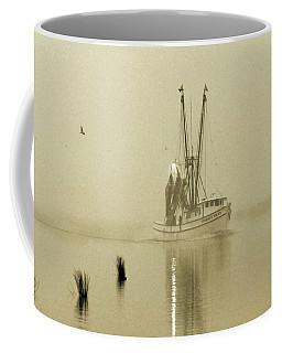 Foggy Evening Catch Coffee Mug by Deborah Smith
