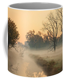 Foggy Fall Morning On Gary Avenue Coffee Mug
