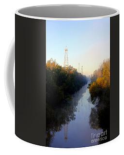 Foggy Fall Morning On The Sabine River Coffee Mug