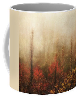 Foggy Fall On The Parkway Coffee Mug