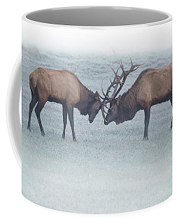 Foggy Fight Coffee Mug
