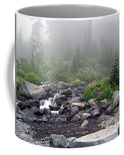 Foggy Morning At Paradise Coffee Mug