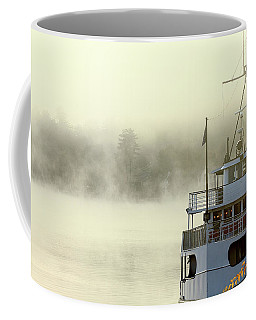 Foggy Morning Cruise Coffee Mug